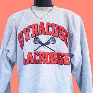 Vintage Syracuse University LAX Sweatshirt